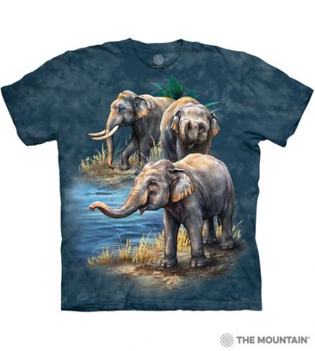Asian Elephants T-shirt | The Mountain®